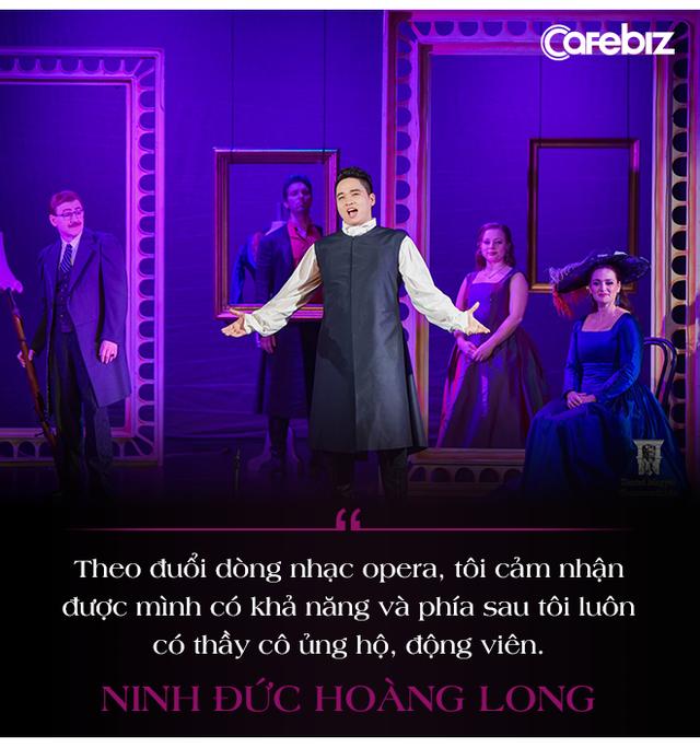 """Gương mặt Forbes 30 Under 30 - tài năng """"vàng opera Ninh Đức Hoàng Long: Không thể dùng tiền hay mối quan hệ để mua giải, những người theo đuổi dòng nhạc này đều rất nghiêm túc với nghề!  - Ảnh 2."""