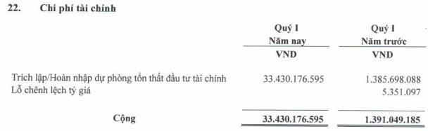 Trích lập dự phòng tài chính  lớn, công ty mẹ Vinapharm (DVN) báo lỗ 27 tỷ đồng - Ảnh 1.