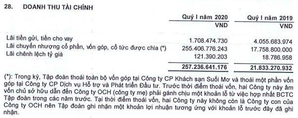 Ocean Group (OGC): Quý 1 lãi 220 tỷ đồng, tăng đột biến so với cùng kỳ - Ảnh 2.