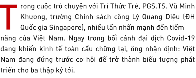 PGS. TS Vũ Minh Khương: Việt Nam đang đứng trước triển vọng lớn làm thế giới kinh ngạc trong những năm tới! - Ảnh 1.