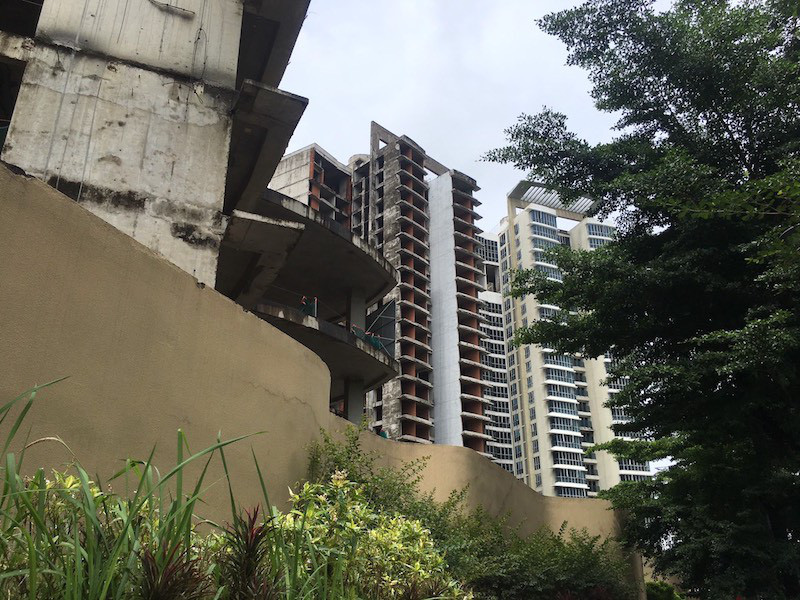 Cận cảnh khối bê tông đồ sộ ở dự án Kenton Node bị BIDV siết nợ - Ảnh 8.