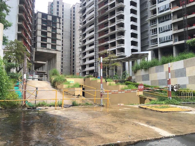 Cận cảnh khối bê tông đồ sộ ở dự án Kenton Node bị BIDV siết nợ - Ảnh 9.