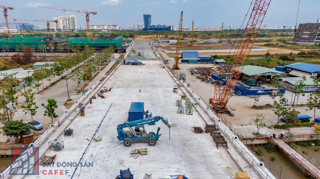 Cập nhật tiến độ thi công dự án cầu Thủ Thiêm 2: Đẩy nhanh tiến độ, dự kiến thông xe kỹ thuật vào tháng 9 - Ảnh 4.