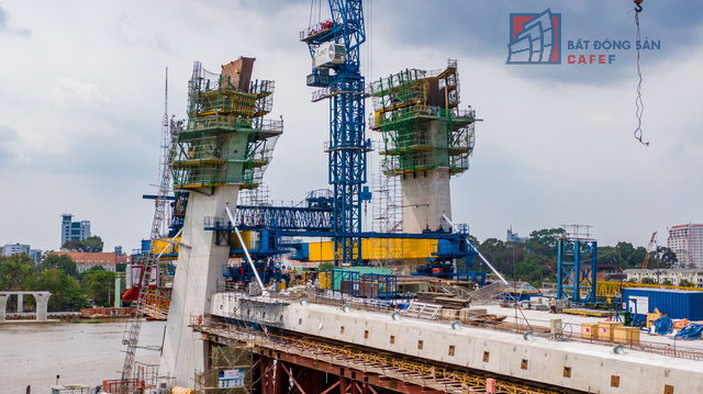 Cập nhật tiến độ thi công dự án cầu Thủ Thiêm 2: Đẩy nhanh tiến độ, dự kiến thông xe kỹ thuật vào tháng 9 - Ảnh 7.