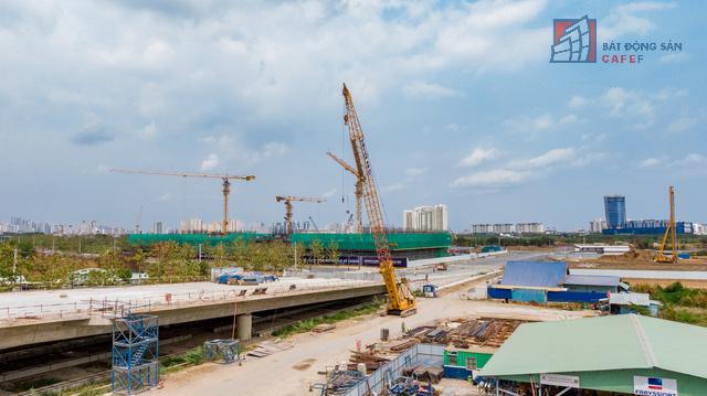 Cập nhật tiến độ thi công dự án cầu Thủ Thiêm 2: Đẩy nhanh tiến độ, dự kiến thông xe kỹ thuật vào tháng 9 - Ảnh 6.