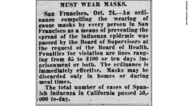 Hơn 100 năm trước, Mỹ từng là nước tiên phong về việc đeo khẩu trang chống dịch: Điều gì đã thay đổi? - Ảnh 1.
