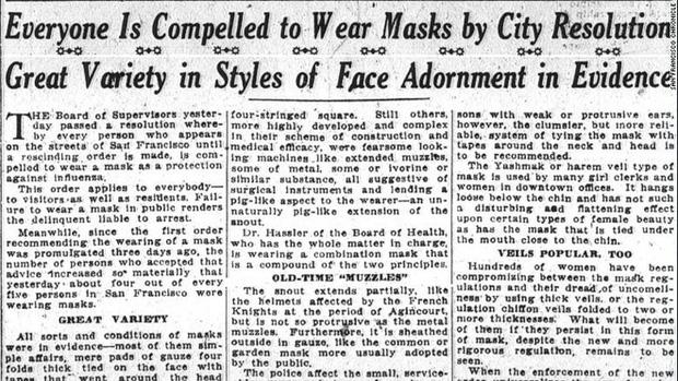 Hơn 100 năm trước, Mỹ từng là nước tiên phong về việc đeo khẩu trang chống dịch: Điều gì đã thay đổi? - Ảnh 4.