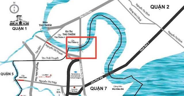 Cây cầu thứ 4 vượt sông Sài Gòn sang Thủ Thiêm khoảng 5.200 tỷ, thiết kế theo ý tưởng tre Việt Nam - Ảnh 1.