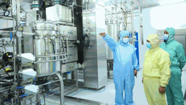 Trung Quốc hoàn thành xưởng sản xuất vaccine Covid-19 lớn nhất thế giới - Ảnh 1.