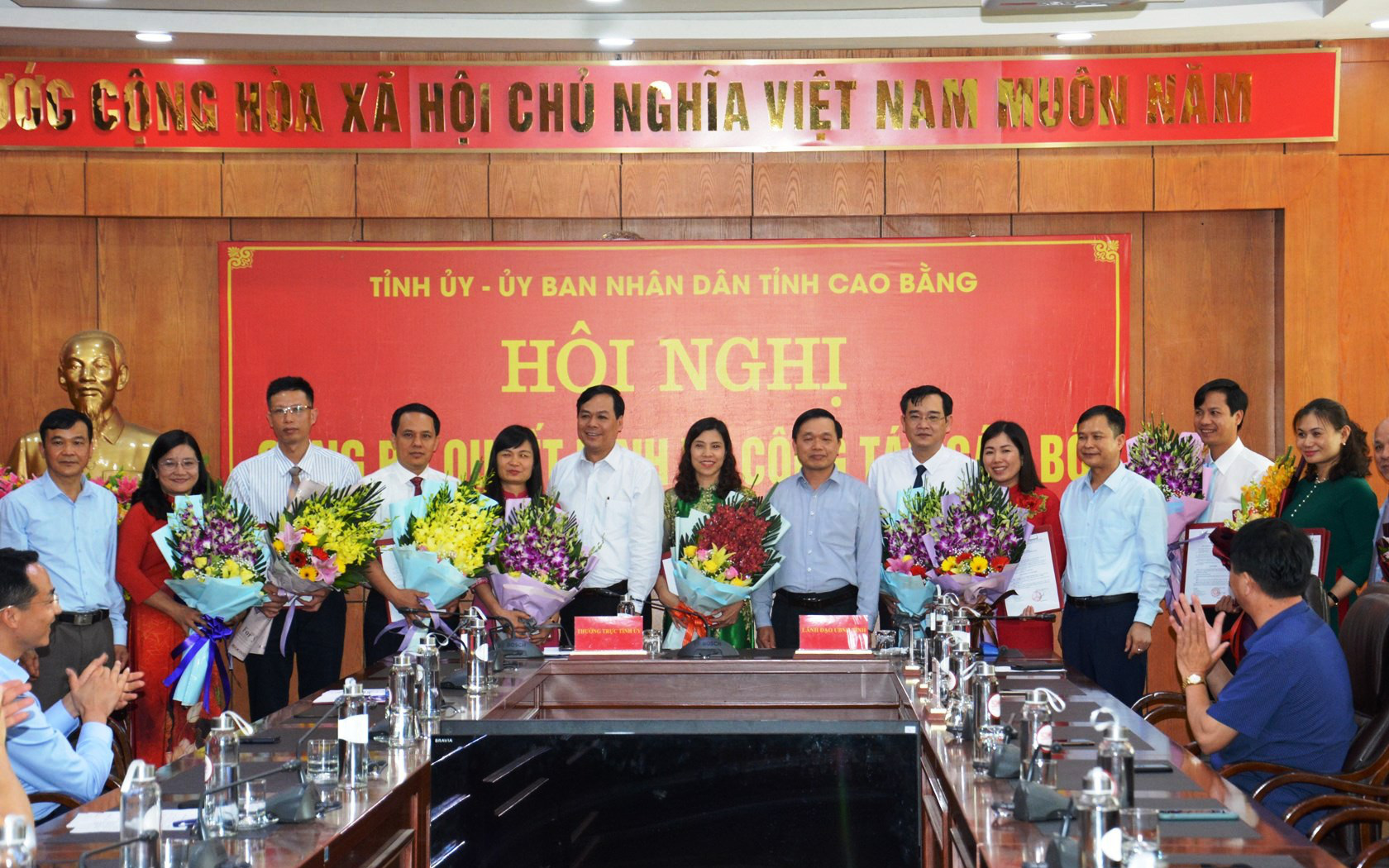 Cao Bằng bổ nhiệm hàng loạt lãnh đạo chủ chốt