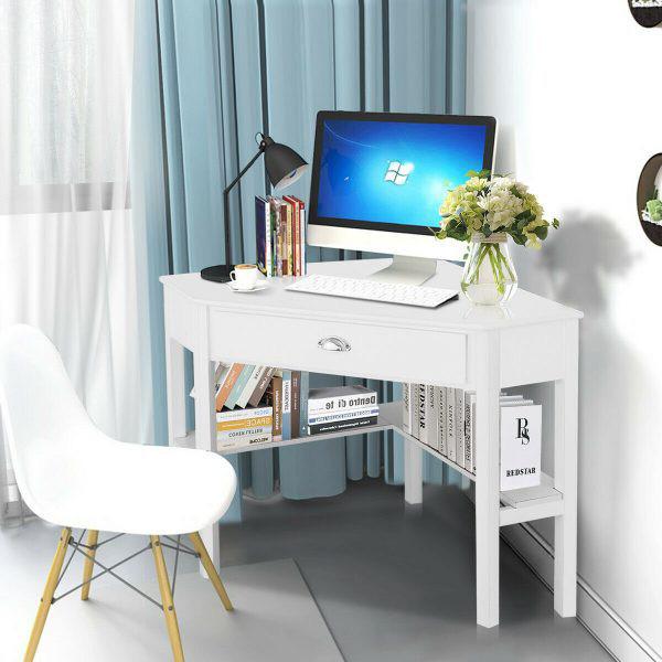 Những chiếc bàn làm việc màu trắng làm sáng không gian - Ảnh 10.