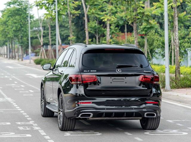 Sau 8.000 km, hàng hiếm Mercedes-Benz GLC 300 AMG nhập khẩu bán lại rẻ hơn tiền ra biển xe lắp ráp - Ảnh 5.