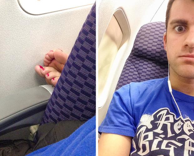 Đi máy bay tuyệt đối không được cởi giày dép cho thoáng chân và đây là 4 lý do - Ảnh 1.