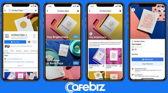 Facebook vừa chính thức cho phép 2,6 tỷ người dùng mua hàng trực tiếp trên nền tảng của họ, từ Amazon đến các ứng dụng đặt, giao đồ ăn đều phải run sợ! - Ảnh 1.