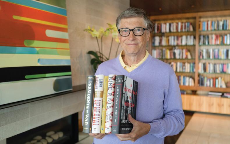 Tỷ phú Bill Gates tiết lộ 5 cuốn sách đáng đọc nhất mùa hè 2020