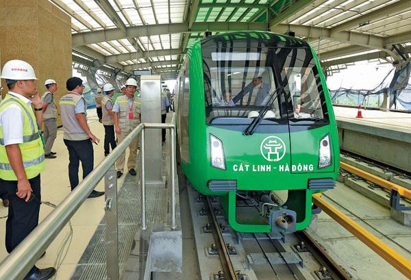 """Không """"hứa"""" thời gian vận hành đường sắt Cát Linh - Hà Đông - Ảnh 1."""