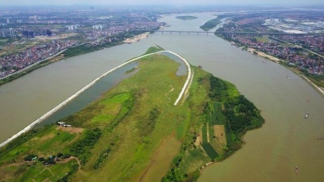 Hà Nội kiến nghị được phân quyền triển khai quy hoạch 2 bên sông Hồng - Ảnh 1.