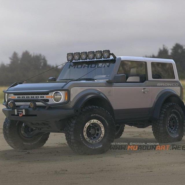 Ford bất ngờ để lộ hành tung Bronco, có ra mắt sớm hơn dự kiến? - Ảnh 3.
