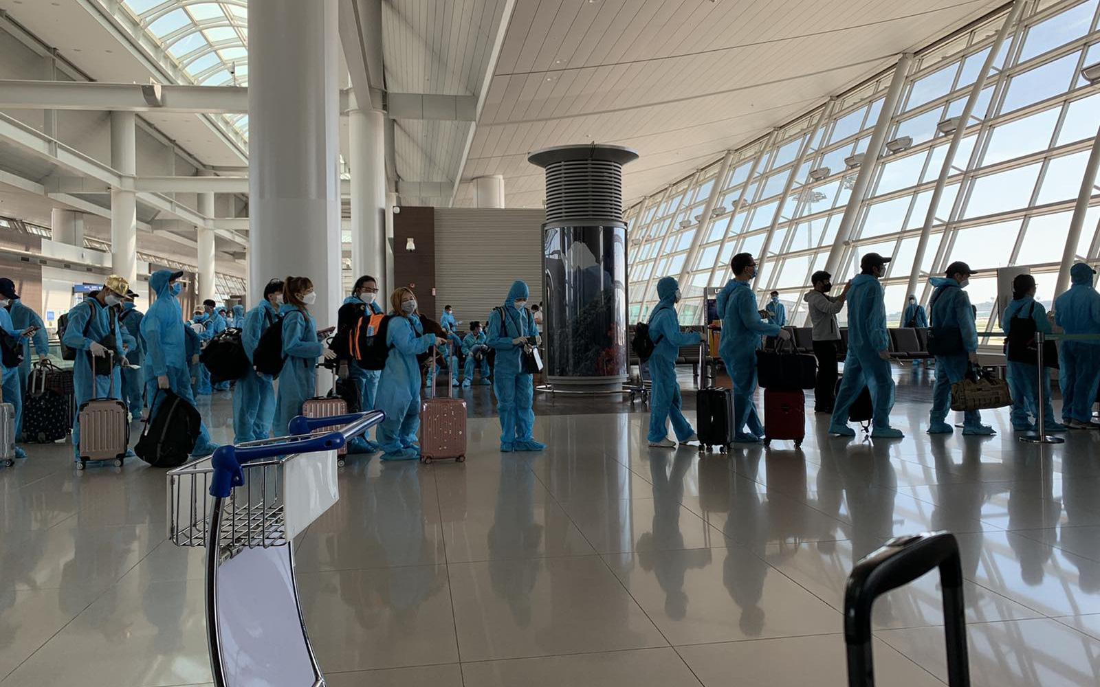 Việt Nam đưa gần 340 công dân từ Hàn Quốc về nước an toàn
