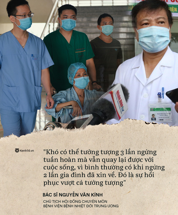 Kỳ tích 80 ngày từ dọa tử vong đến hồi sinh của BN19 qua lời kể từ đội ngũ y bác sĩ: Chúng tôi như đứng trên cầu thăng bằng - Ảnh 2.