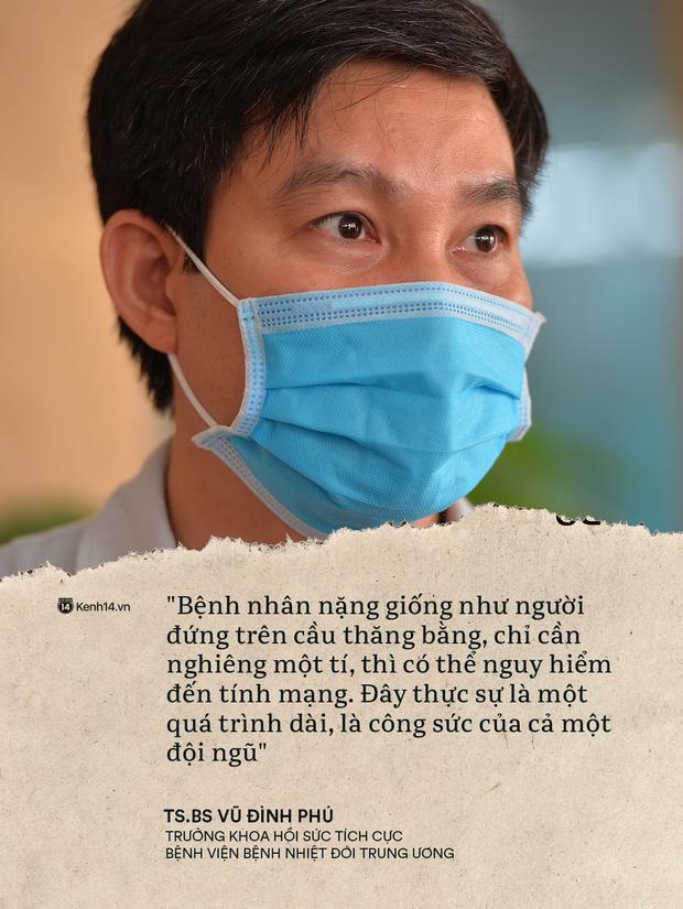 Kỳ tích 80 ngày từ dọa tử vong đến hồi sinh của BN19 qua lời kể từ đội ngũ y bác sĩ: Chúng tôi như đứng trên cầu thăng bằng - Ảnh 4.