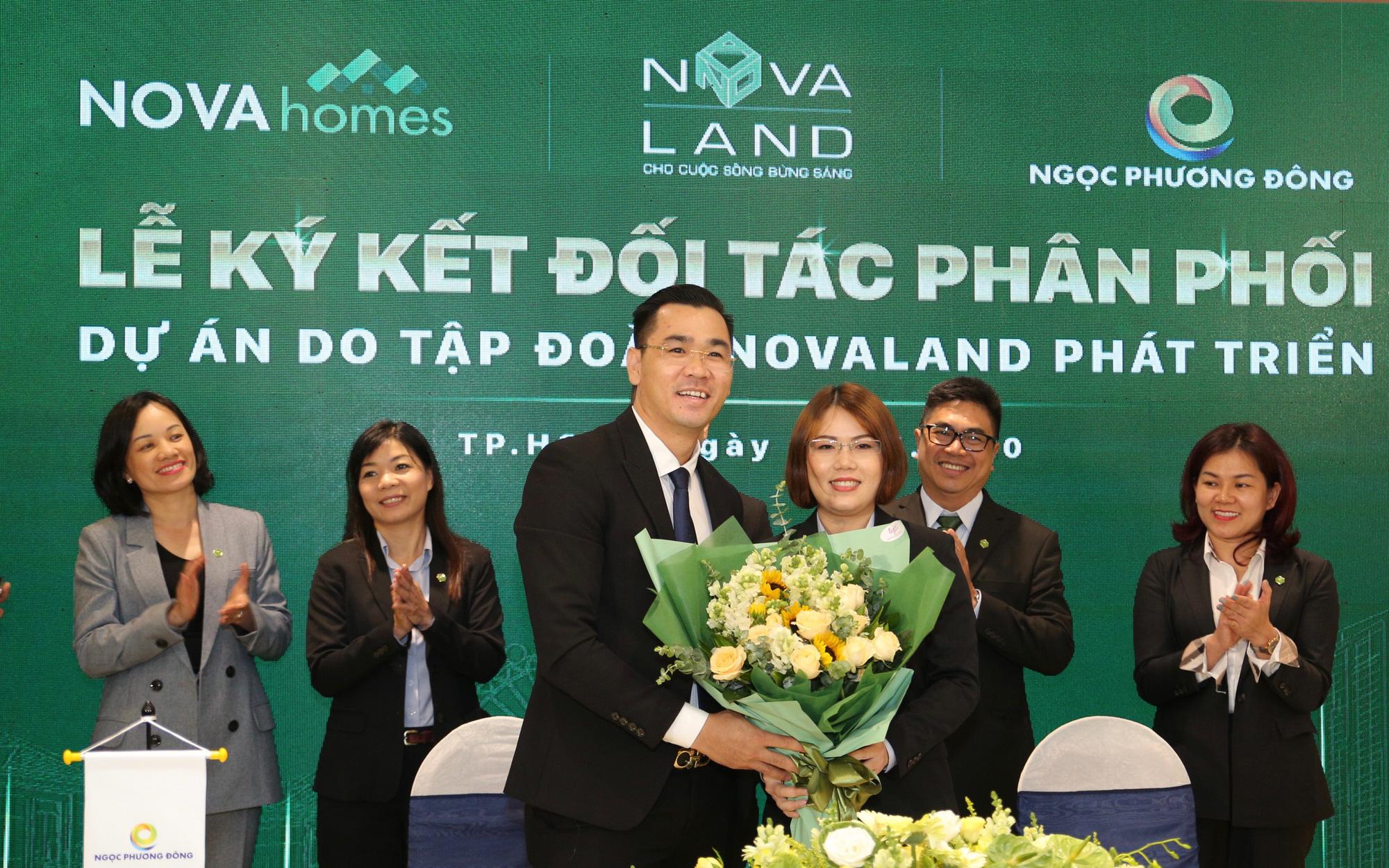 Tập đoàn Novaland hợp tác phân phối BĐS với nhiều đối tác