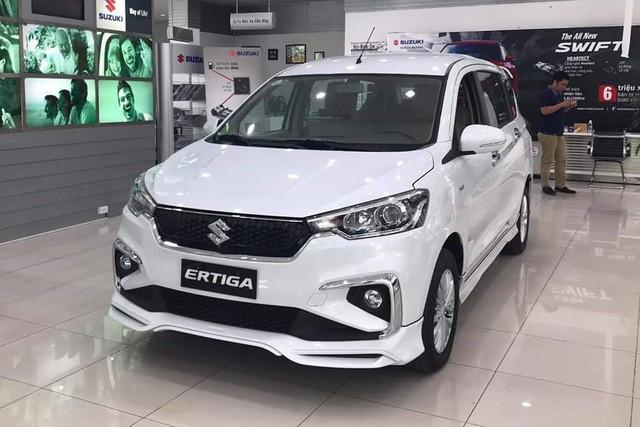 Thiếu xe mới nhưng thừa hàng tồn, Suzuki Ertiga giảm giá kỷ lục, rẻ hơn Mitsubishi Xpander cả trăm triệu đồng - Ảnh 1.