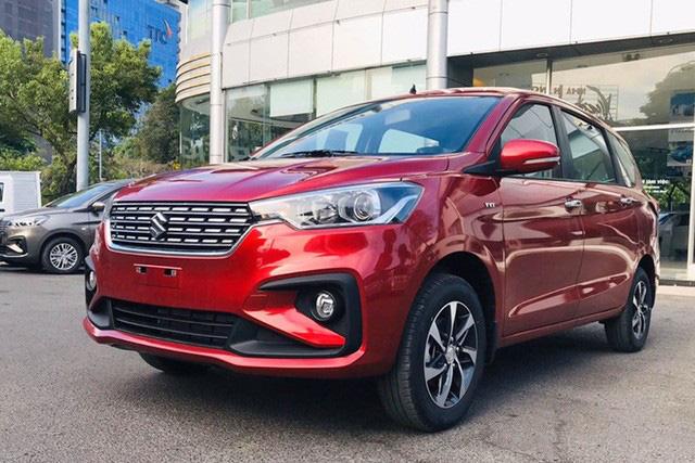 Thiếu xe mới nhưng thừa hàng tồn, Suzuki Ertiga giảm giá kỷ lục, rẻ hơn Mitsubishi Xpander cả trăm triệu đồng - Ảnh 3.