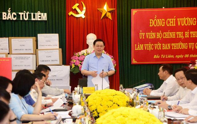Bí thư Thành ủy Hà Nội: Cán bộ trong quy hoạch mà giữ mình, không dám làm thì phải cân nhắc xem có nên trọng dụng - Ảnh 3.