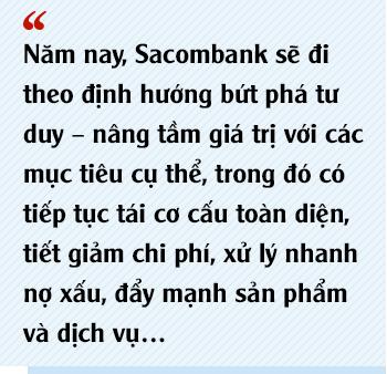 Chủ tịch Sacombank Dương Công Minh: Tôi vào Sacombank với mục tiêu tái cơ cấu thành công ngân hàng, đến nay điều ấy không có gì thay đổi - Ảnh 8.