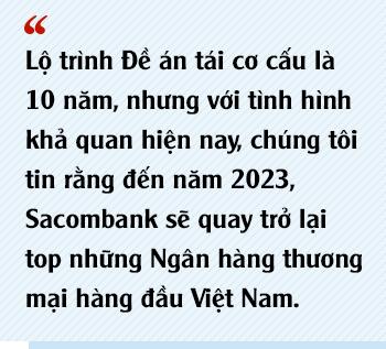 Chủ tịch Sacombank Dương Công Minh: Tôi vào Sacombank với mục tiêu tái cơ cấu thành công ngân hàng, đến nay điều ấy không có gì thay đổi - Ảnh 10.