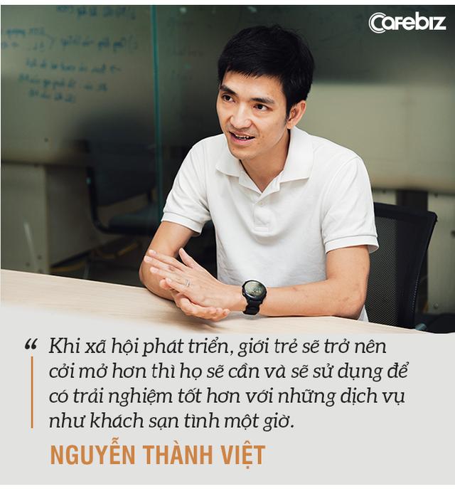 Rời vị trí giám đốc vận hành Uber, Go-Viet, cựu du học sinh 8x khởi nghiệp ứng dụng khách sạn 'tình 1 giờ' với thị trường tiềm năng 1 tỷ USD - Ảnh 5.