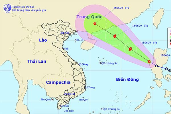 Chủ động ứng phó áp thấp nhiệt đới có khả năng mạnh lên thành bão - Ảnh 1.
