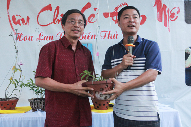 Đại gia Hà Nội chi mạnh 5 tỷ đồng mua giò lan đột biến nhìn như... ngọn rau muống - Ảnh 7.