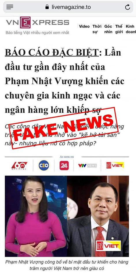 Tỷ phú Phạm Nhật Vượng, Trần Đình Long bị giả mạo, kéo vào cuộc làm giàu với bitcoin - Ảnh 1.