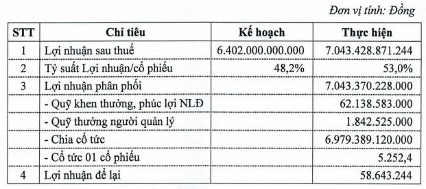 VEAM dành gần 7.000 tỷ đồng chia cổ tức tỷ lệ 52,52% cho năm 2019, trình tiếp kế hoạch niêm yết cổ phiếu lên HoSE - Ảnh 1.