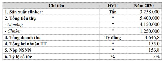 Xi măng Bỉm Sơn (BCC): Kế hoạch lãi trước thuế 155 tỷ đồng năm 2020, trình phương án phát hành 13 triệu cổ phiếu trả cổ tức - Ảnh 2.
