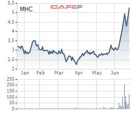 MHC tăng mạnh, Sotrans bán sạch hơn 9 triệu cổ phần, không còn là cổ đông lớn - Ảnh 1.
