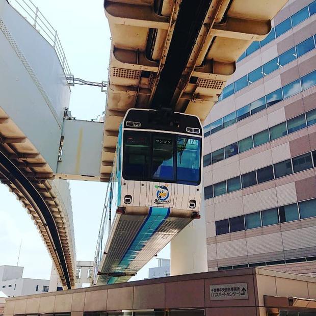 """Không hổ danh """"đất nước ngoài hành tinh"""" trong mắt du khách, Nhật Bản chính là nơi sở hữu đoàn tàu treo ngược dài nhất thế giới hiện nay - Ảnh 16."""