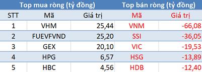 Khối ngoại tiếp tục bán ròng, VN-Index mất gần 23 điểm trong phiên 29/6 - Ảnh 1.