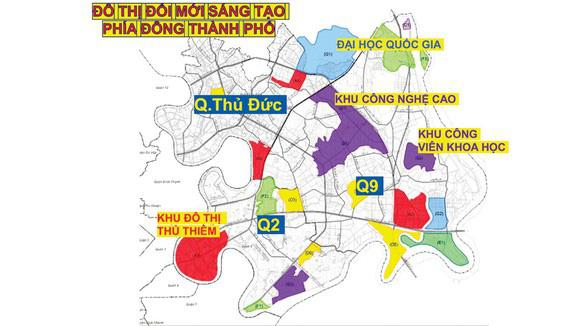 3 khu vực ở phía Đông Tp.HCM vừa được đề xuất quy hoạch lại như thế nào? - Ảnh 5.