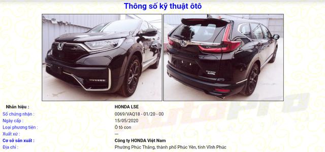 Lộ diện Honda CR-V 2020 lắp ráp tại Việt Nam: 4 phiên bản, thiết kế mới, sẵn sàng chờ giảm trước bạ - Ảnh 1.