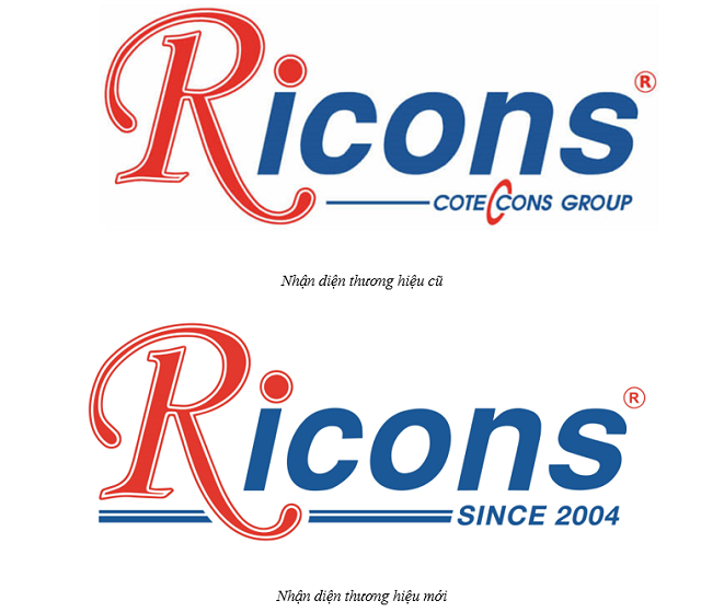Ricons muốn phát triển hệ sinh thái, logo không còn Coteccons Group - Ảnh 1.