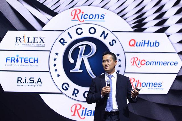 Ricons muốn phát triển hệ sinh thái, logo không còn Coteccons Group - Ảnh 2.