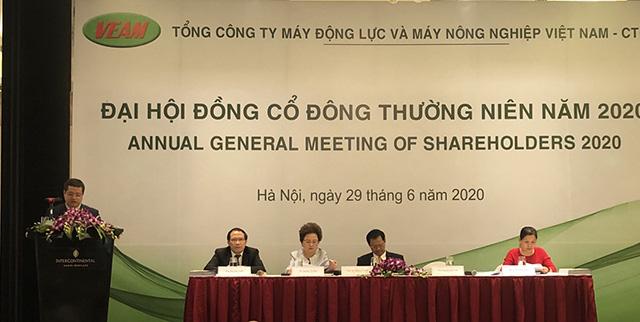 Họp ĐHĐCĐ VEAM: Bà Nguyễn Thị Nga đề nghị thời gian chia cổ tức, hoàn thành quyết toán cổ phần hóa - Ảnh 1.