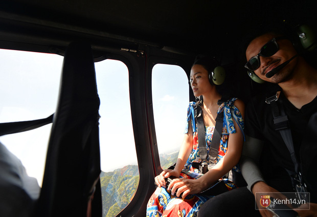 Đi Tràng An bằng máy bay: những vị khách đầu tiên đã được bay thử nghiệm ngắm cố đô trên trực thăng - Ảnh 7.