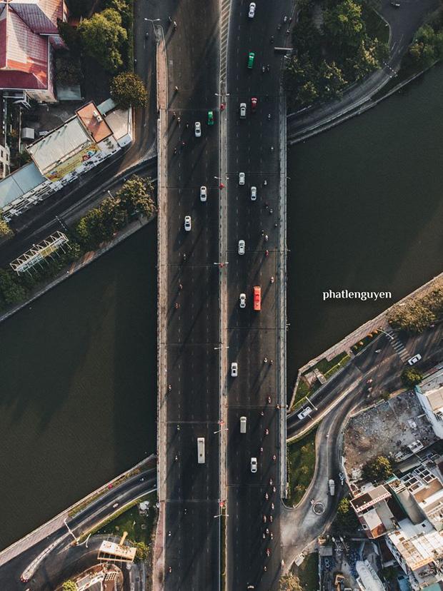 """Không tin vào mắt mình trước bộ ảnh chụp Sài Gòn từ trên cao đang """"gây bão"""" MXH: Xem hình, bạn đoán được đúng tên bao nhiêu địa điểm? - Ảnh 36."""