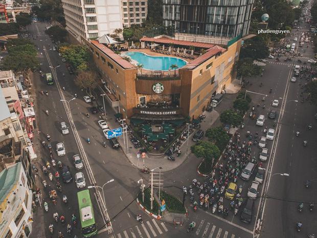 """Không tin vào mắt mình trước bộ ảnh chụp Sài Gòn từ trên cao đang """"gây bão"""" MXH: Xem hình, bạn đoán được đúng tên bao nhiêu địa điểm? - Ảnh 37."""