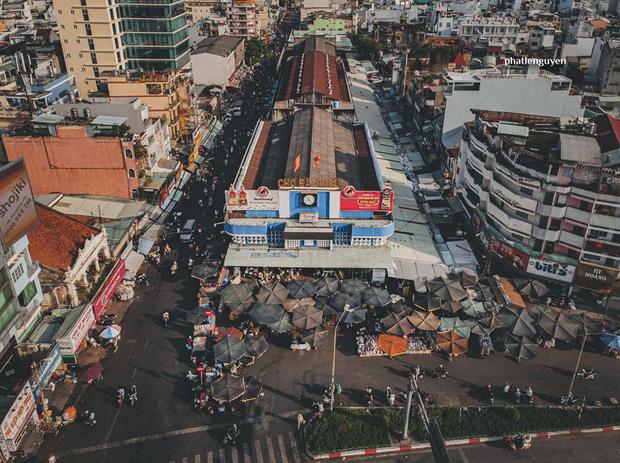 """Không tin vào mắt mình trước bộ ảnh chụp Sài Gòn từ trên cao đang """"gây bão"""" MXH: Xem hình, bạn đoán được đúng tên bao nhiêu địa điểm? - Ảnh 8."""