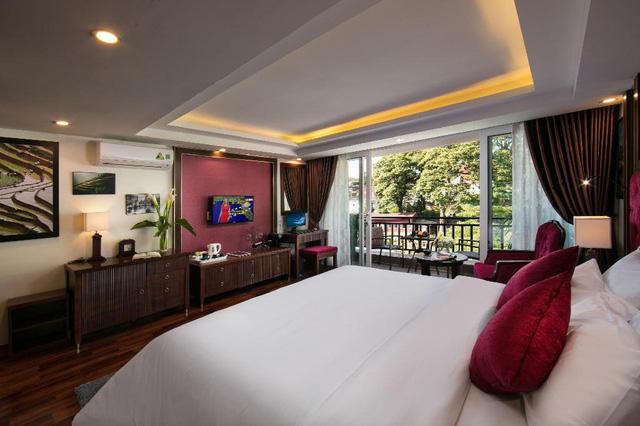 Lên Sapa tránh nóng, sao không thử ghé những khách sạn dưới đây: Tầm cỡ 4 sao nhưng giá cả chưa tới 1 triệu đồng/đêm, đủ dịch vụ sang chảnh từ hồ bơi đến spa  - Ảnh 9.